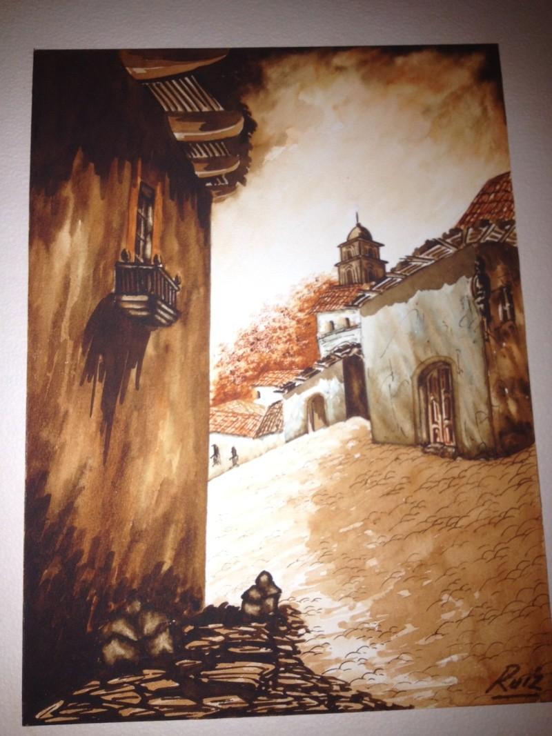 Watercolor Signed* Ruiz  Help please!  Ruiz10