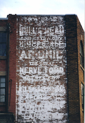 """Ghost signs"" disparues Walldo10"