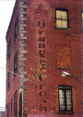 """Ghost signs"" disparues Walldo11"