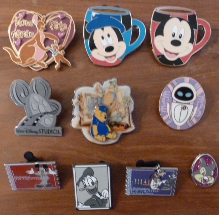 Une nouvelle fan de pin's Disney est là!!!!! P1040441