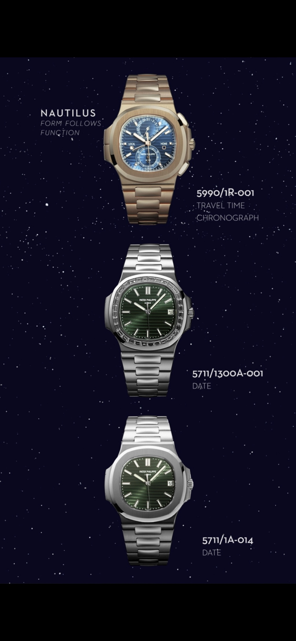 3 nouvelles Patek Philippe Nautilus - Watches and Wonders Geneva 2021  Ae198410