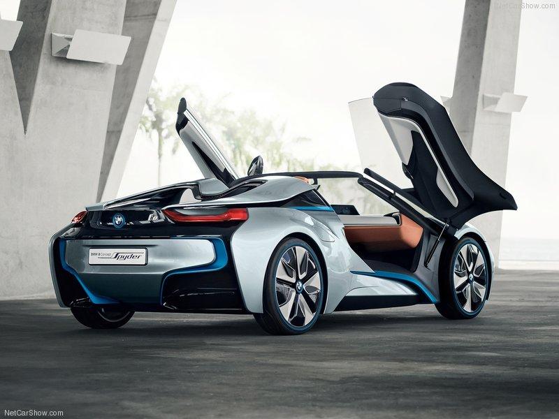 (BMW i8 Spyder Concept (2013  نبده مختصرة عن السيارة: 4na62910