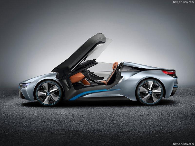 (BMW i8 Spyder Concept (2013  نبده مختصرة عن السيارة: Nuz62910