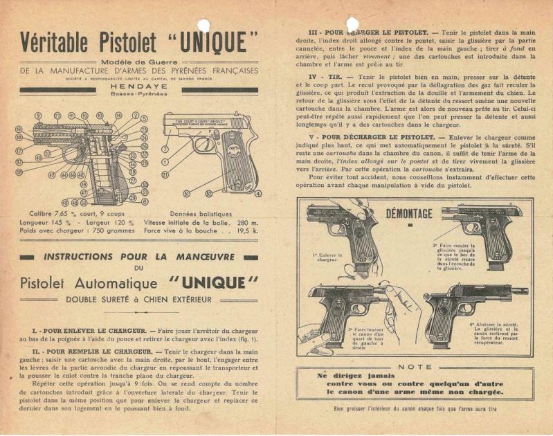 Catalogue UNIQUE, 1930s 1024ca10