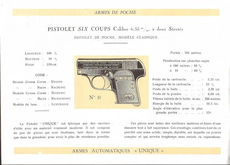 Catalogue UNIQUE, 1930s 19310011