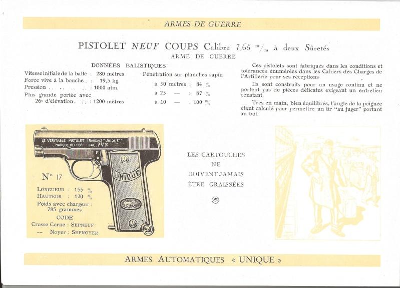 Catalogue UNIQUE, 1930s 19310012