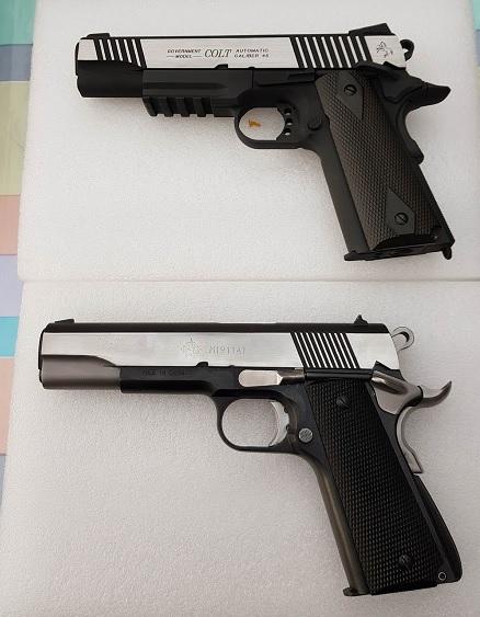Achat plaisir vraiment satisfaisant. Cybergun Colt 1911 rail gun stainless - Page 2 Colt_a10