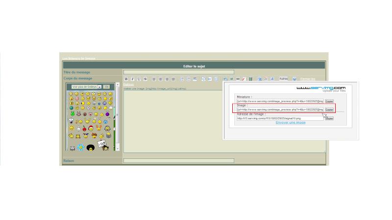 Comment insérer une image sur le Forum? 0310