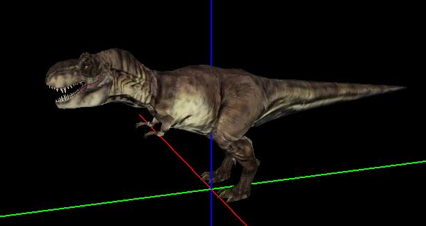 Jurassic Park The Game Trex skin v.2 2002-038