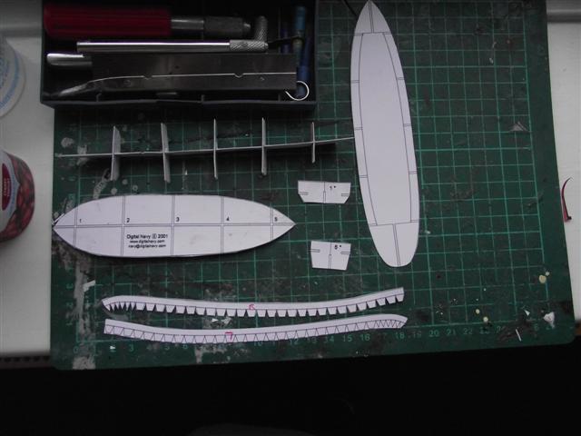 card modelling ambrose  Dscf3314