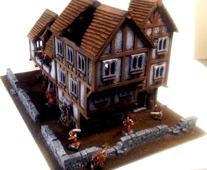Mordheim City Block Mordhe18