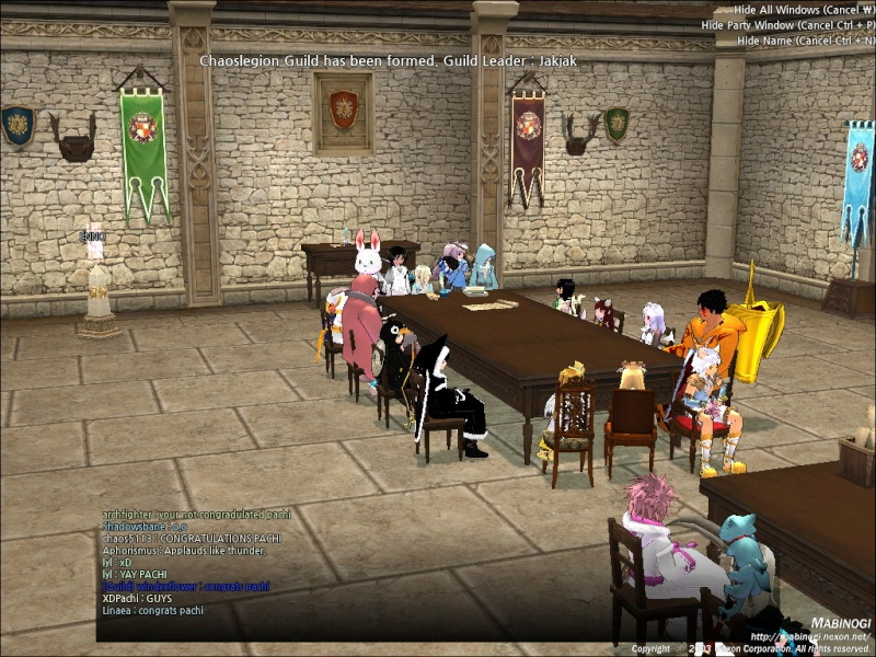 Banquet Guild Meeting Mabino10