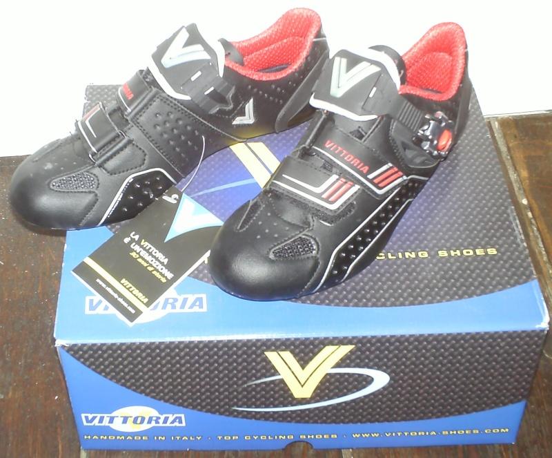 À vendre: Vittoria Laser Carbon nero noir chaussures vélo taille eu 40 Pict0010