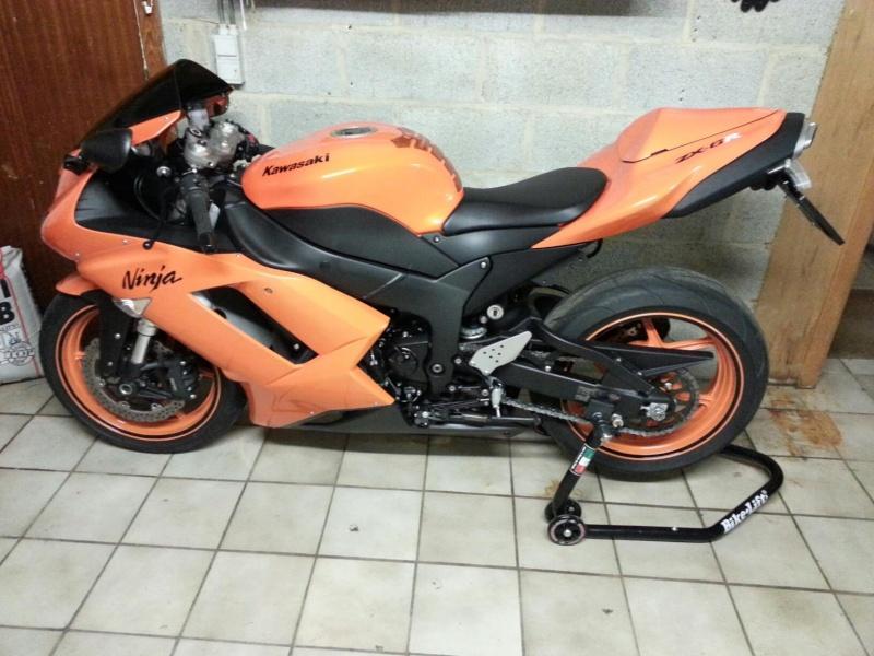 Ma Ninja Zx6r K8 orange/black Clean Look ! ! !  28003910