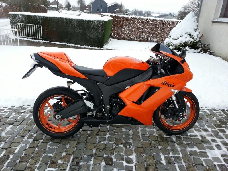 Ma Ninja Zx6r K8 orange/black Clean Look ! ! !  45811310