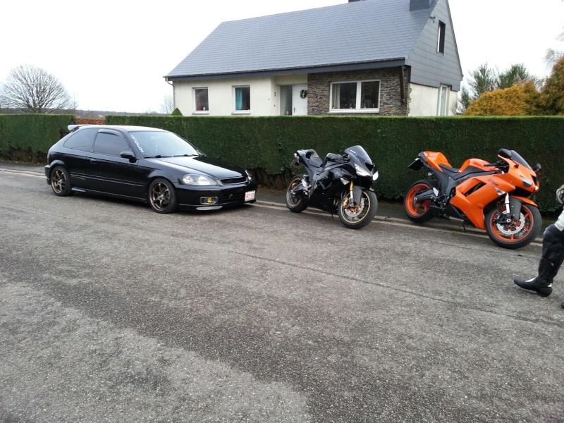 Ma Ninja Zx6r K8 orange/black Clean Look ! ! !  46098910