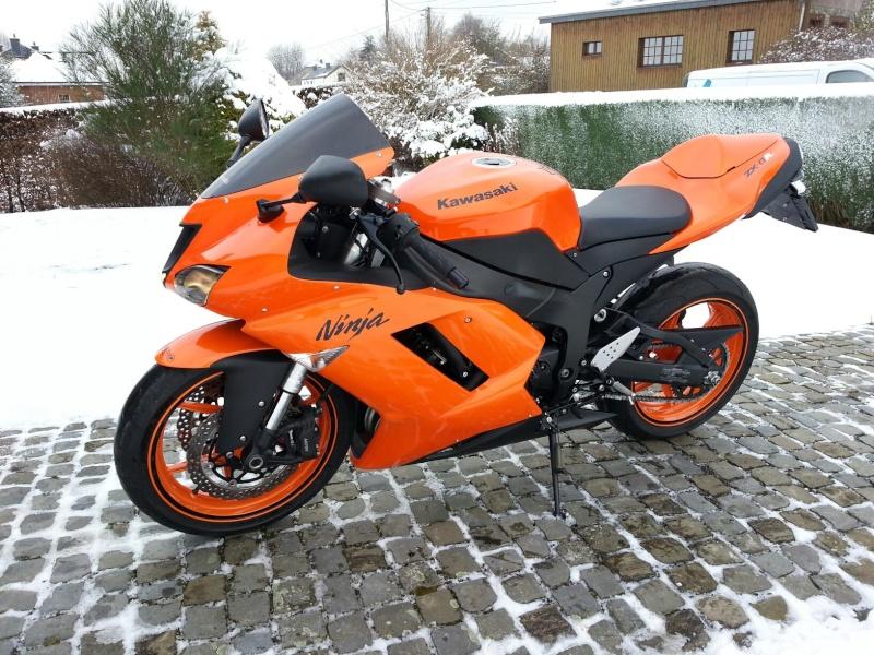 Ma Ninja Zx6r K8 orange/black Clean Look ! ! !  46498810