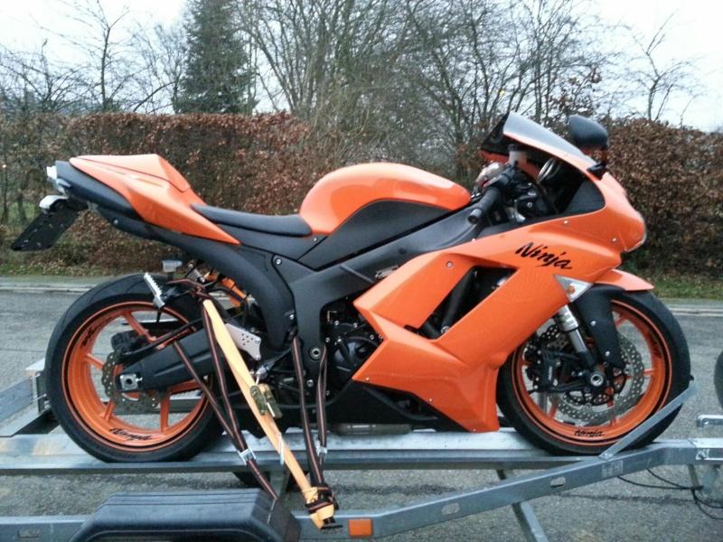 Ma Ninja Zx6r K8 orange/black Clean Look ! ! !  46828210