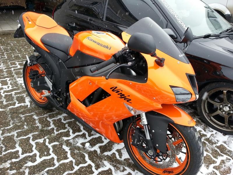 Ma Ninja Zx6r K8 orange/black Clean Look ! ! !  70485610
