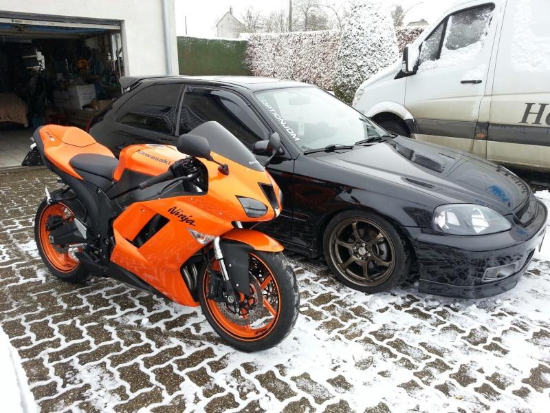 Ma Ninja Zx6r K8 orange/black Clean Look ! ! !  70511710