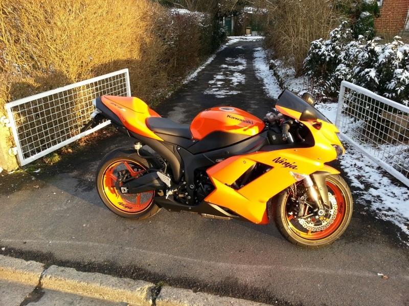 Ma Ninja Zx6r K8 orange/black Clean Look ! ! !  73641510