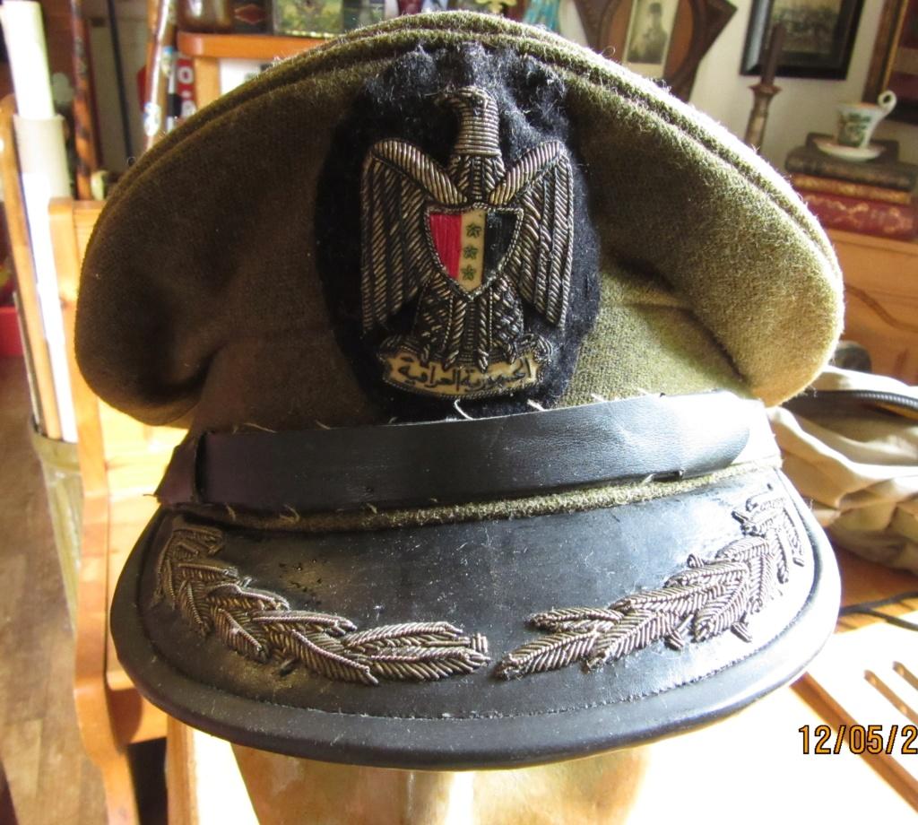 Une casquette anglo/irakienne des années 50 Casque30
