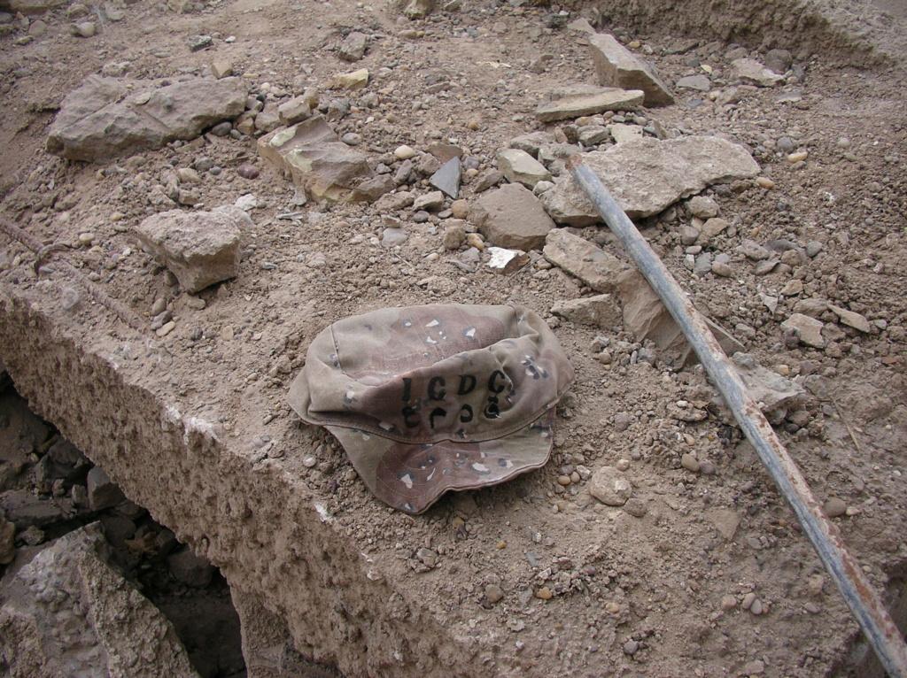 Des souvenirs du terrain ramenés d'Irak Master11