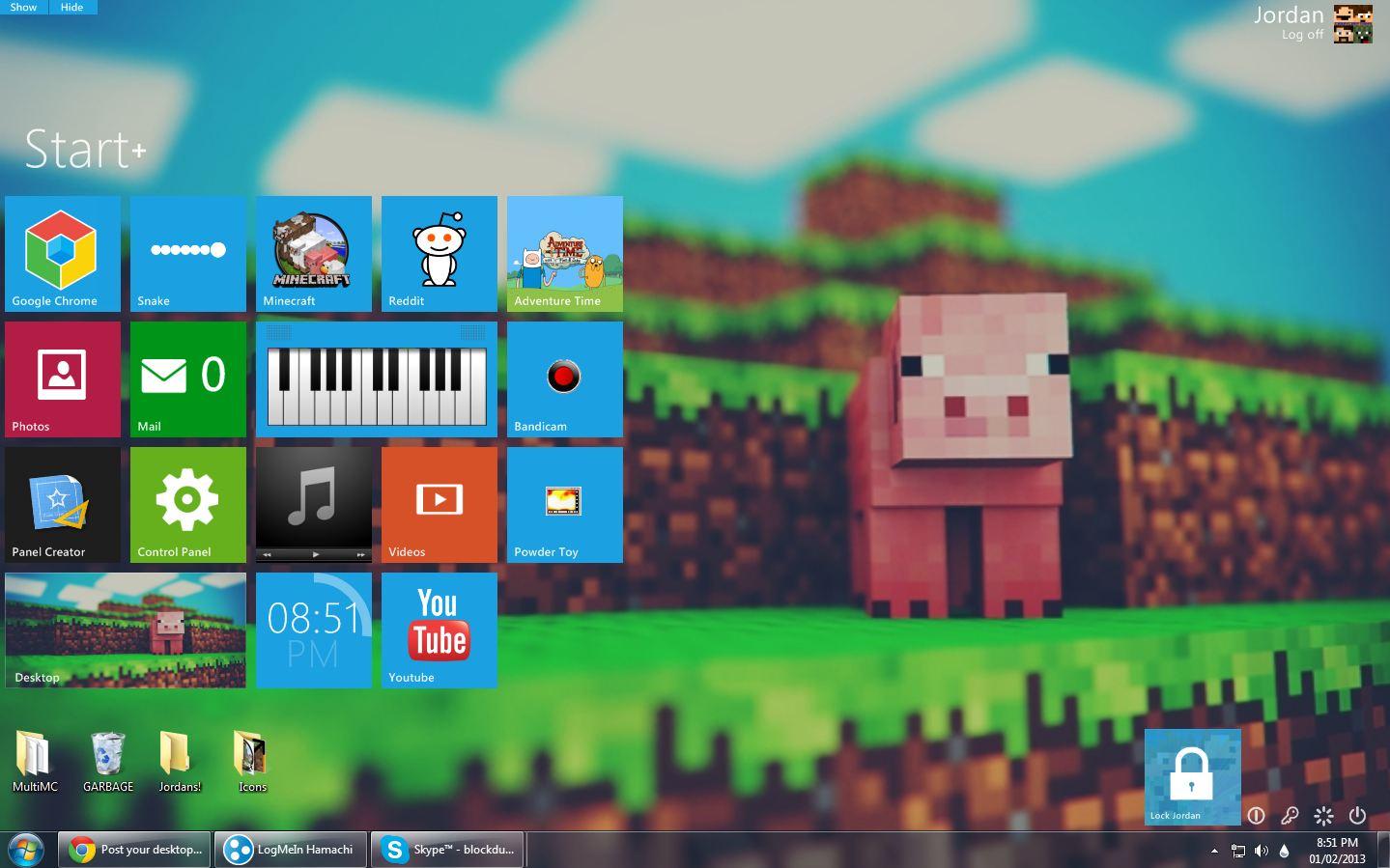 Post your desktop background! Desk10
