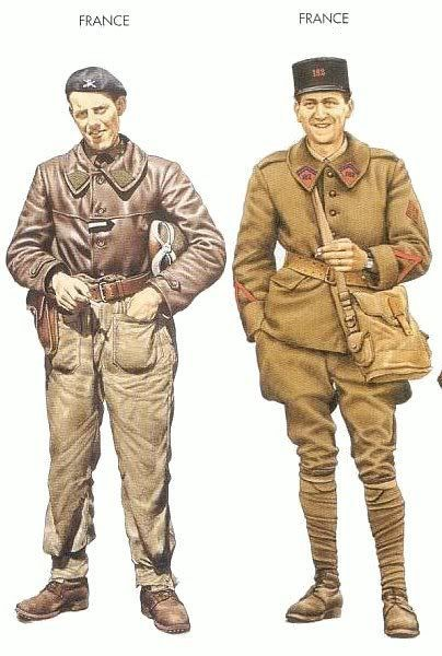 Question couleurs pour ces figurines WW2 1511