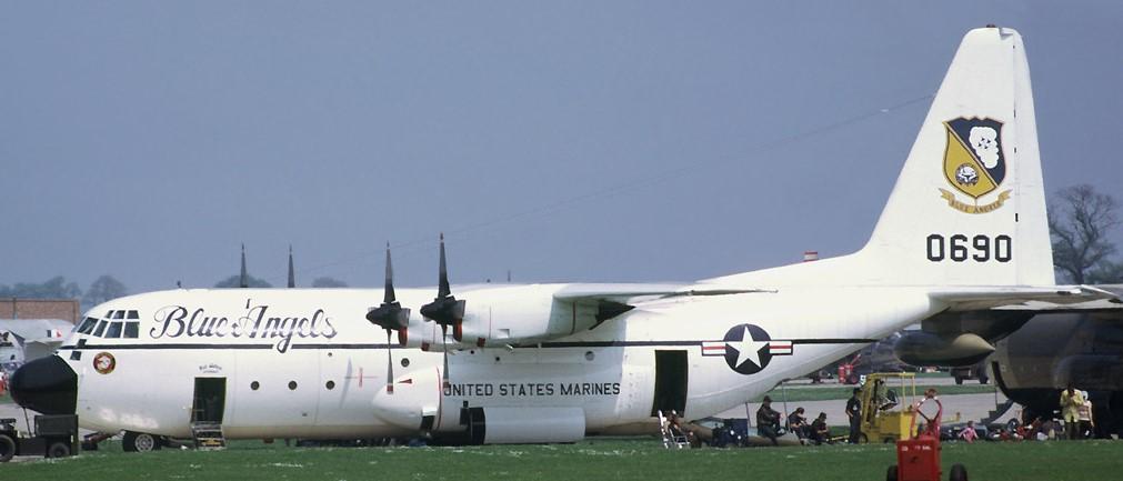 """C-130 Hercules Blue Angels 1/72 """"MPC"""" 17634310"""