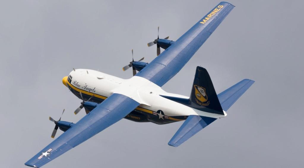 """C-130 Hercules Blue Angels 1/72 """"MPC"""" 36503_10"""
