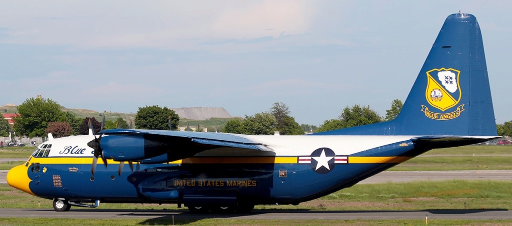 "C-130 Hercules Blue Angels 1/72 ""MPC"" 44411210"