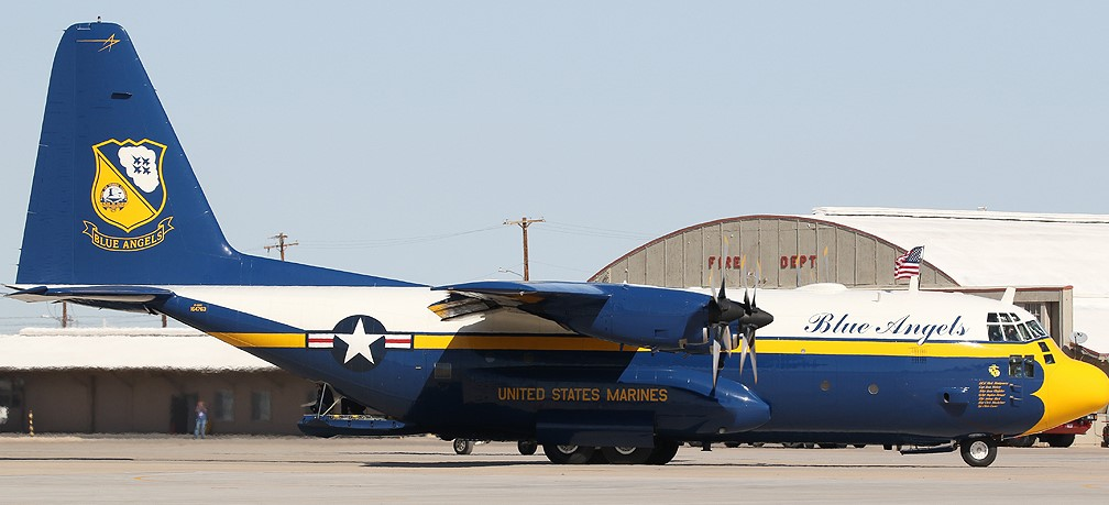 "C-130 Hercules Blue Angels 1/72 ""MPC"" 66491_10"