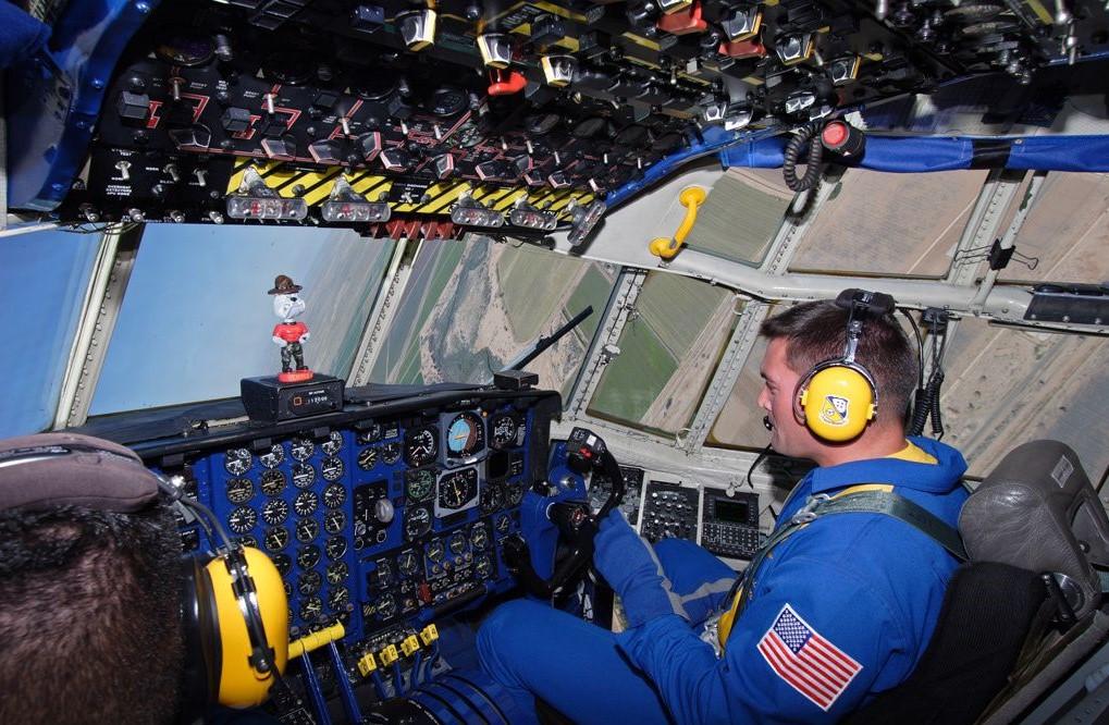 "C-130 Hercules Blue Angels 1/72 ""MPC"" Ed9e9b10"