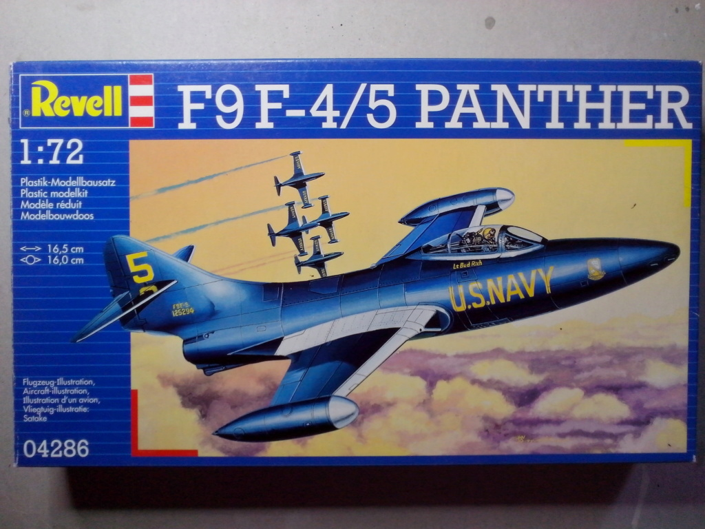 F-9 PANTHER F-5 Blue Angels (Revell) 1/72 Img_2436