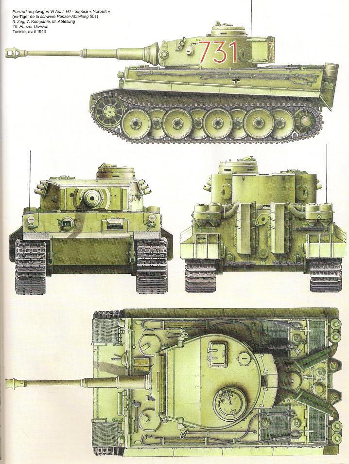 Un félin dans le sable : Tigre I Tamiya 1/48eme - Page 2 Nu133110