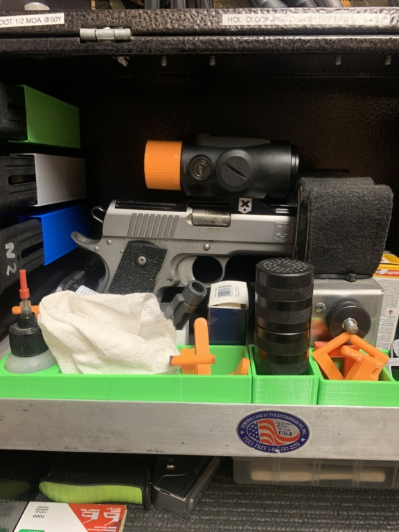 Who is making pistol boxes? 5dfedf10