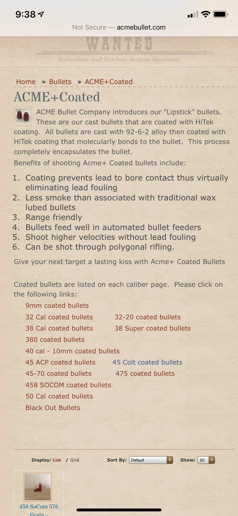 """Berry's Superior Plated Bullets® are the finest bonded copper-jacketed bullets available today.....""  ?? - Page 2 A5a1c310"