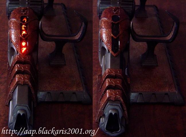 Gun à Plasma et lance de Predator 0216