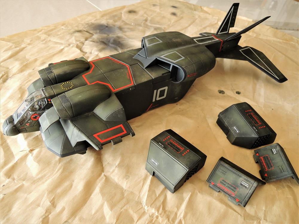 Aliens. Le Dropship des US Colonial Marines Dscn6611