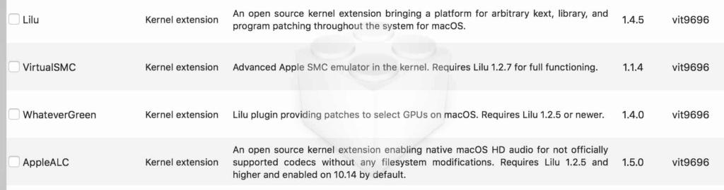 Problème avec preview au passage 10.15.5 Kext10