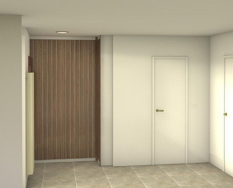 projets de placard et decoration longs couloirs étroits  Mondre10