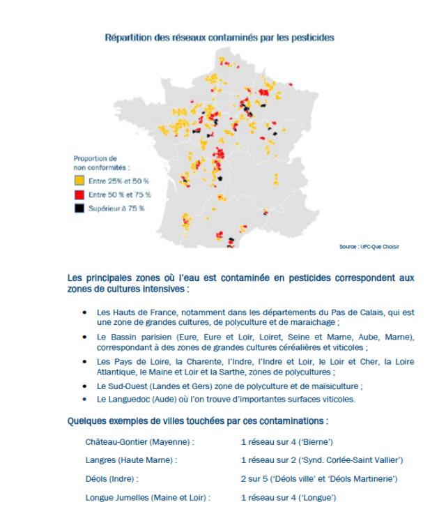 Carte interactive de la qualité de l'eau Découvrez la qualité de l'eau du robinet de votre commune  Captu158