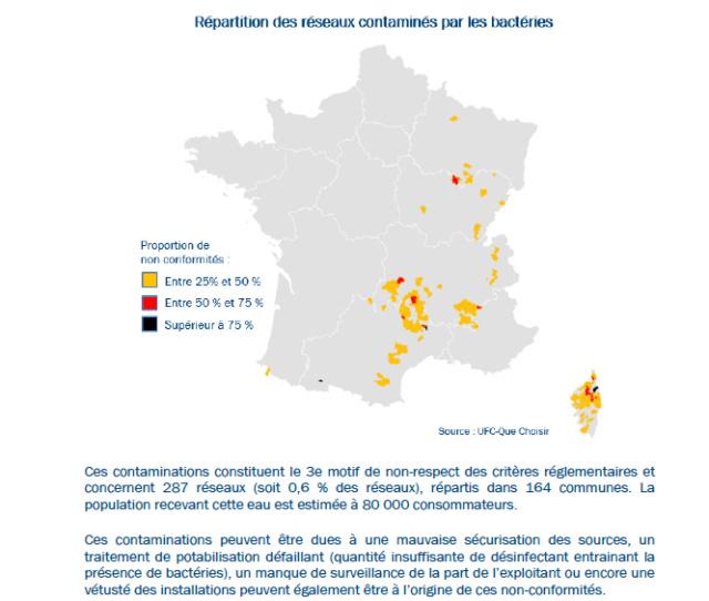 Carte interactive de la qualité de l'eau Découvrez la qualité de l'eau du robinet de votre commune  Captu160