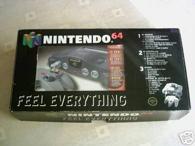 QESAKO : coffret feel everything mario 64 + VHS 53491910