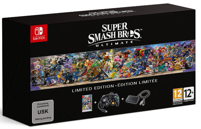 Super Smash Bros ULTIMATE switch édition collector Super-10
