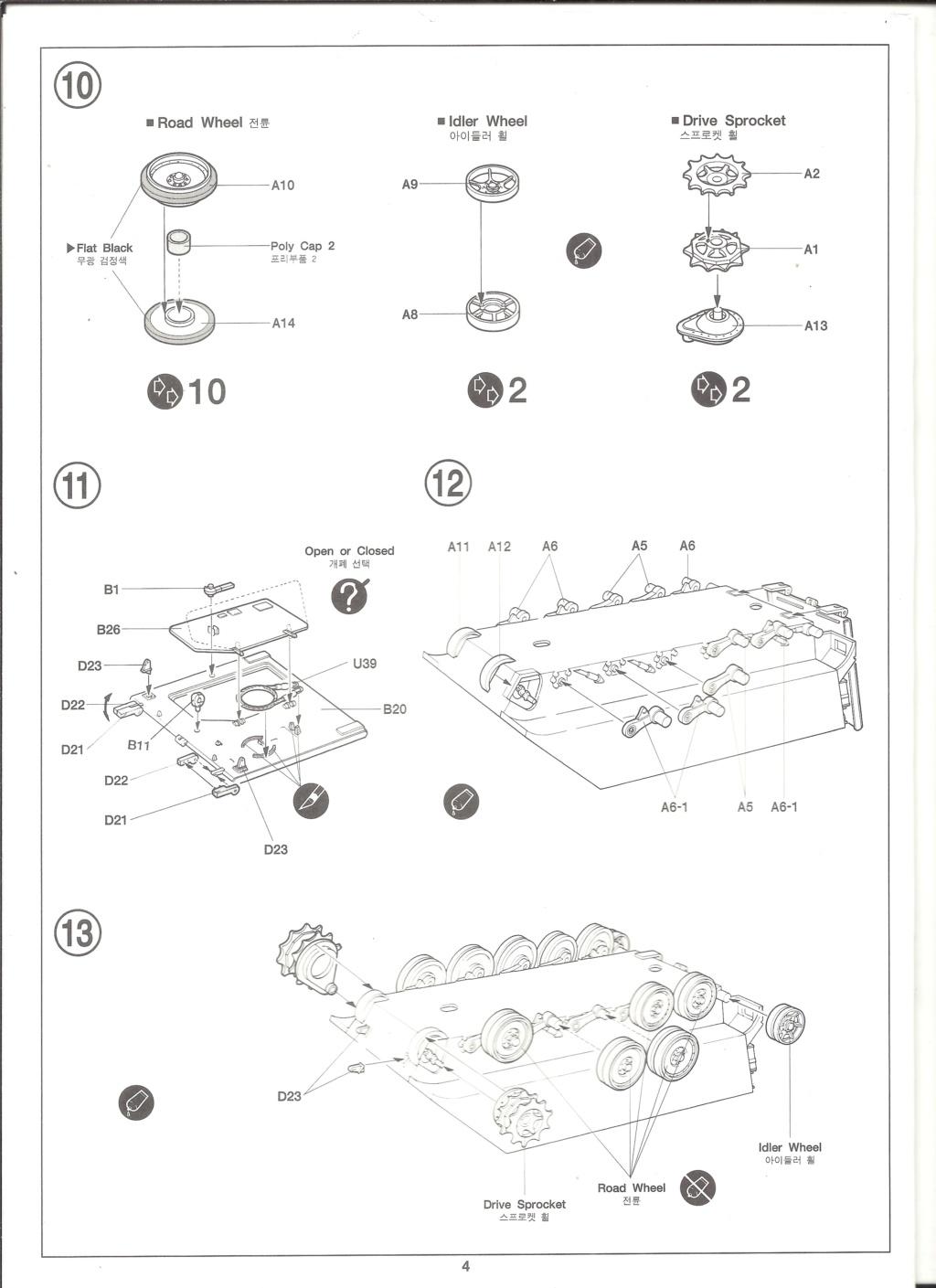 [ACADEMY]  M113A1 Guerre du VIETNAM 1/35ème Réf 1389 Notice Academ32