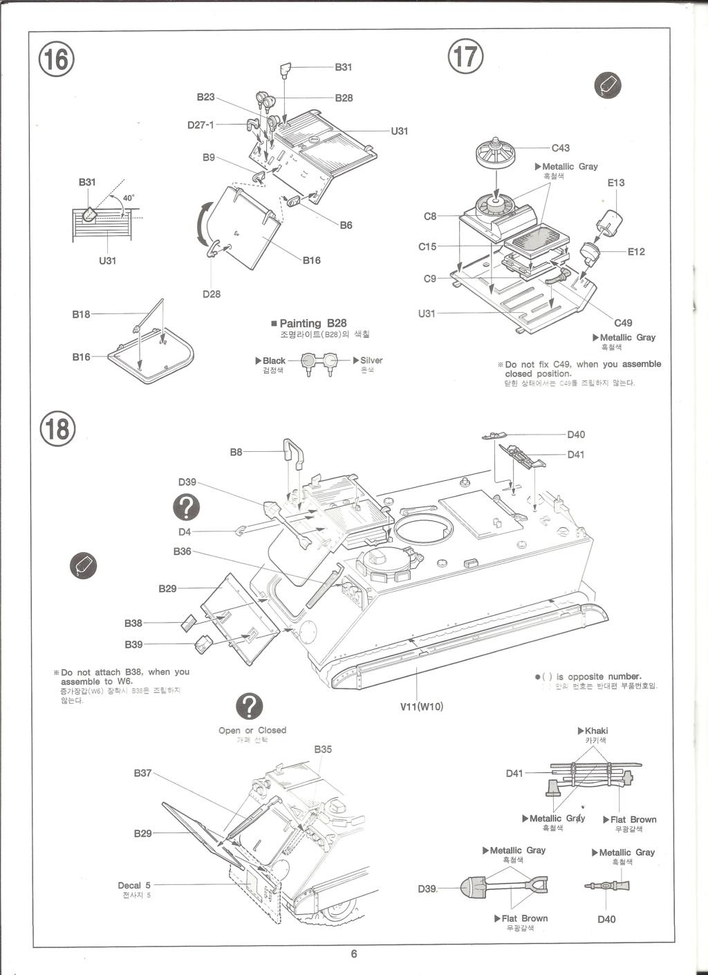 [ACADEMY]  M113A1 Guerre du VIETNAM 1/35ème Réf 1389 Notice Academ33