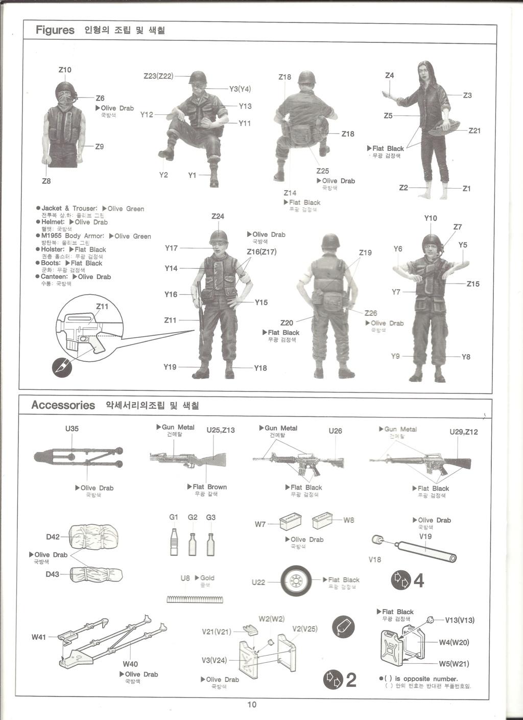 [ACADEMY]  M113A1 Guerre du VIETNAM 1/35ème Réf 1389 Notice Academ38
