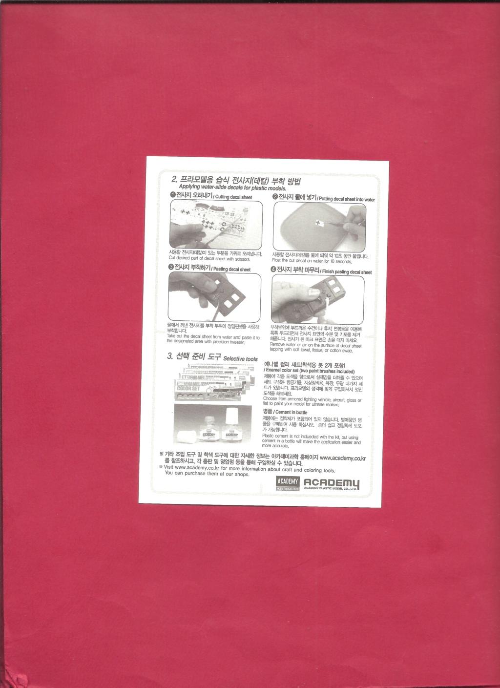 [ACADEMY]  M113A1 Guerre du VIETNAM 1/35ème Réf 1389 Notice Academ42